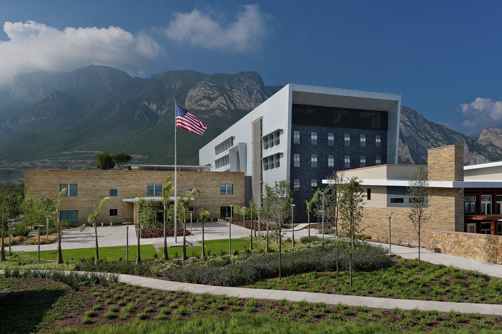 New U S  Consulate   KCCT Architecture